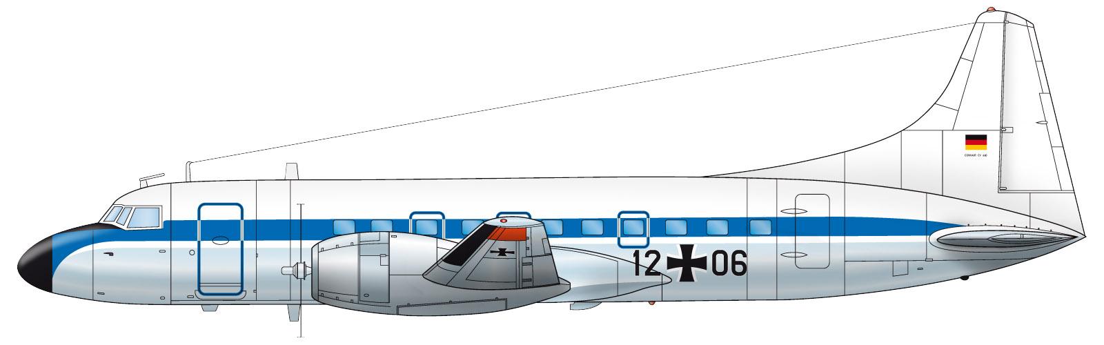 Il disegno dell'aereo che cadde a Brema