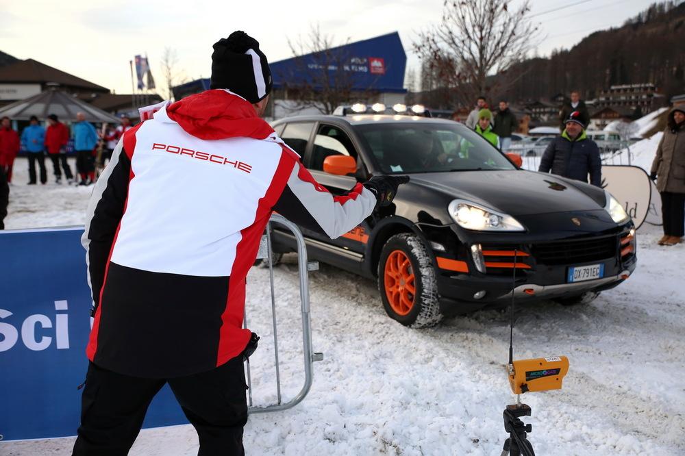 Porsche prova auto