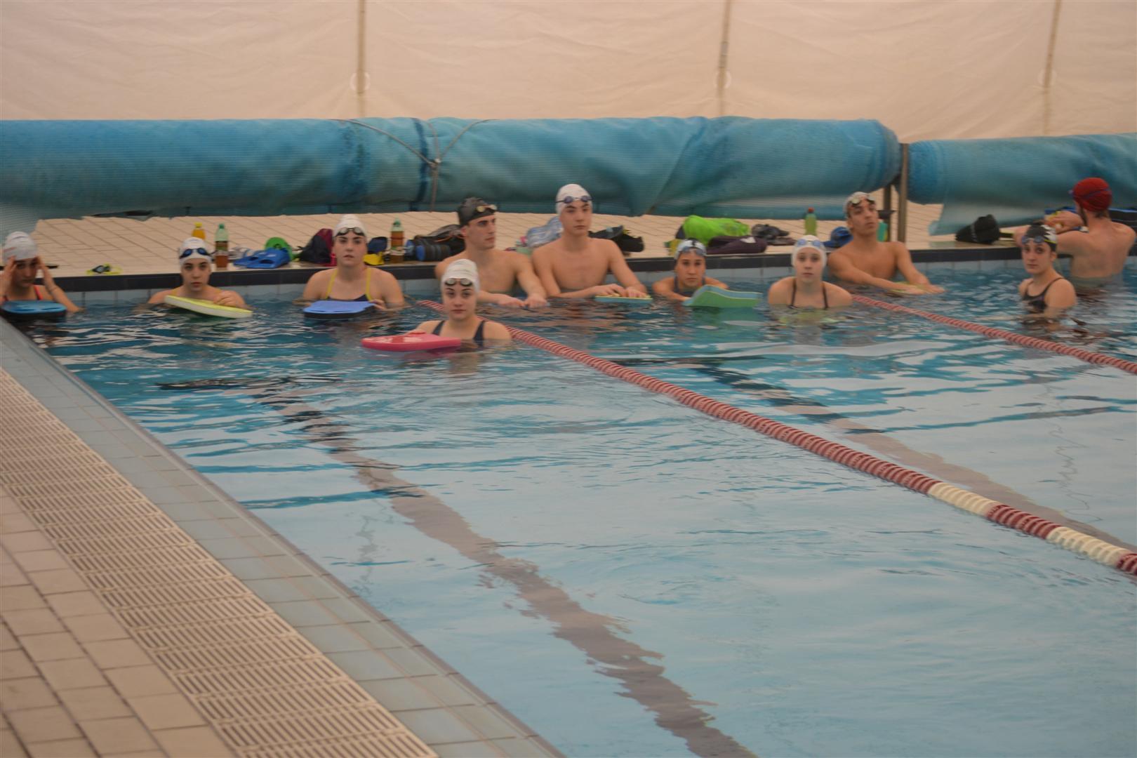 nuoto gruppo agonistico