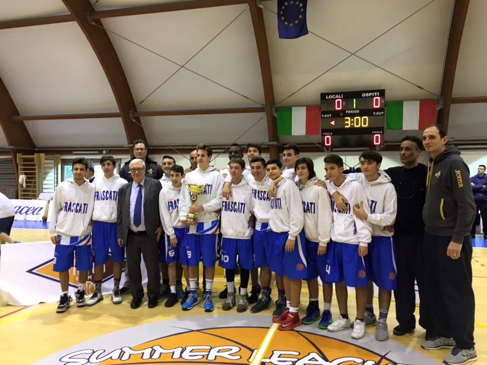 Under 16 basket Frascati