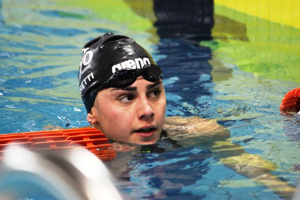 Giulia Ghiretti in vasca