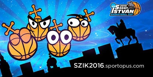 LOGO SZENT ISTVAN U16 BASKETBALL CUP