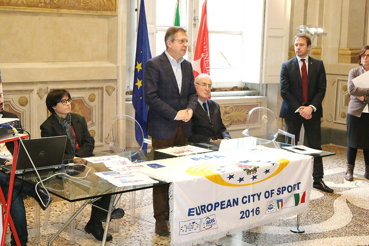 Pisa european city of sport 2016