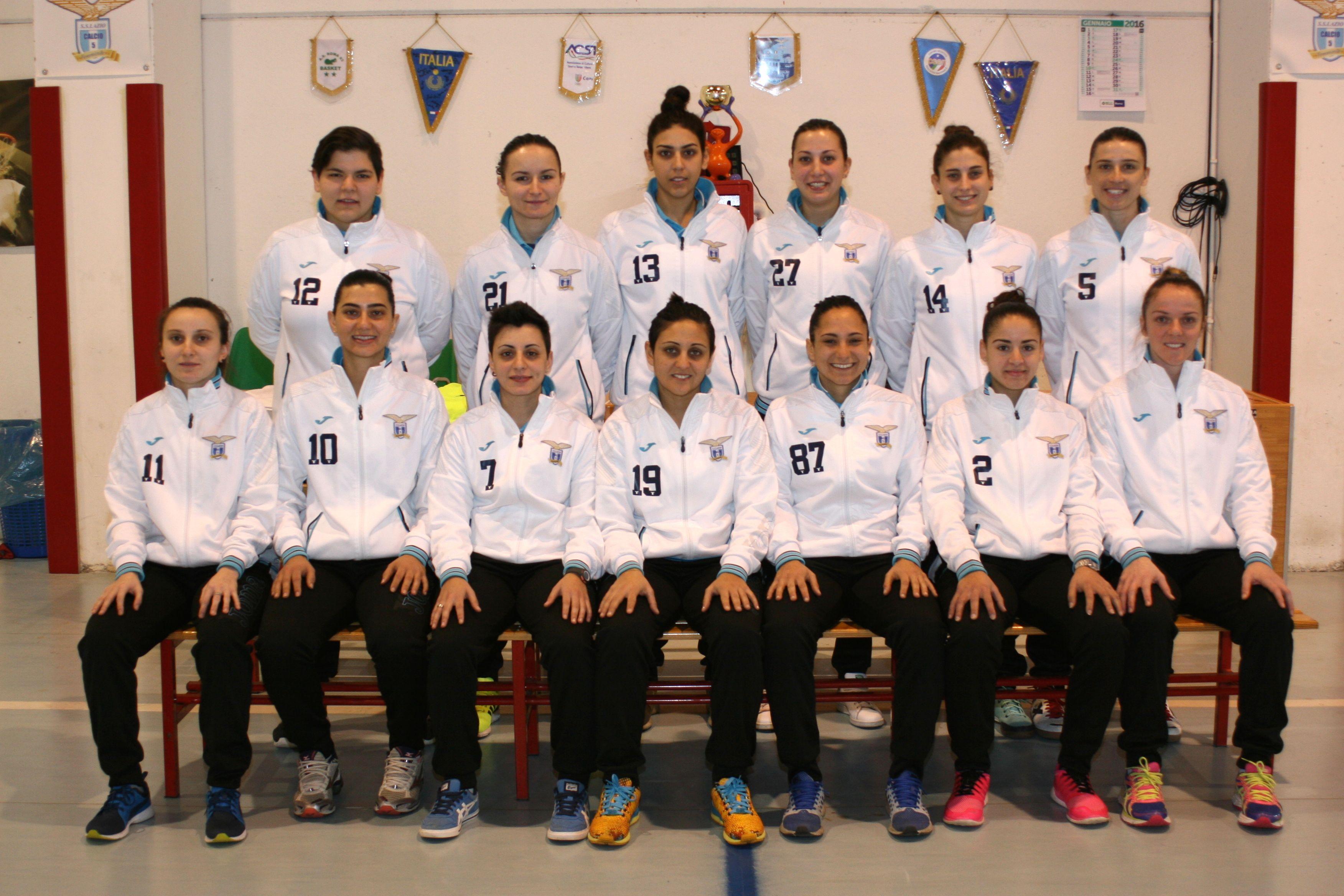 SS Lazio c5 femminile 2015-2016