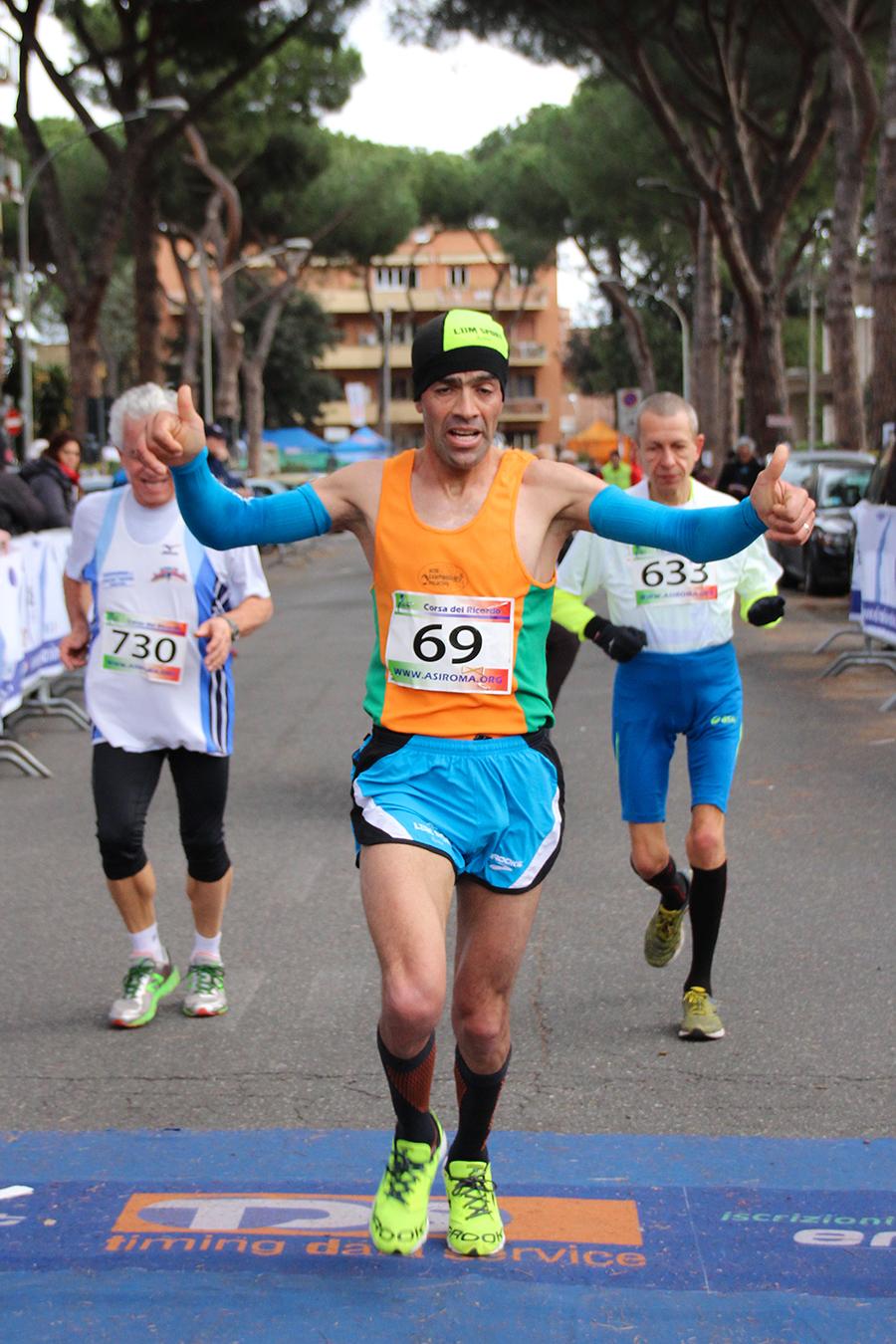 Tayebe Filari vince la III edizione della corsa del   ricordo