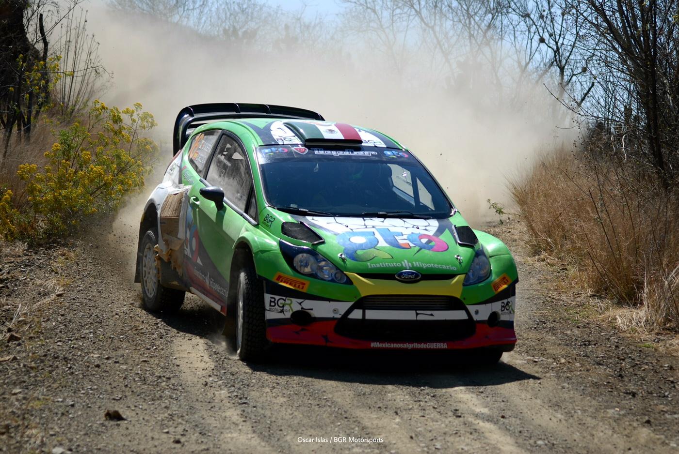 Benito Guerra Rally Messico 2016 WRC