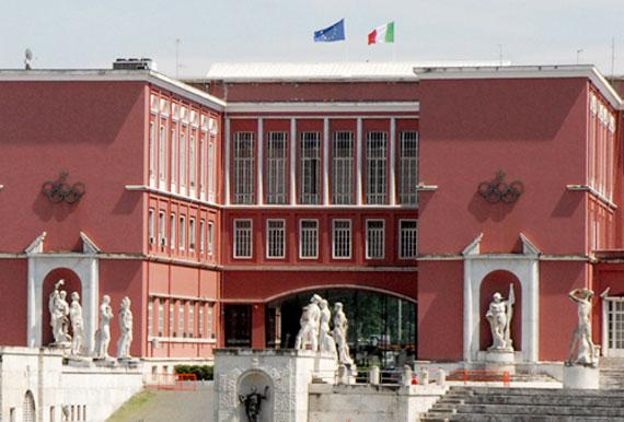 Il palazzo H del Coni