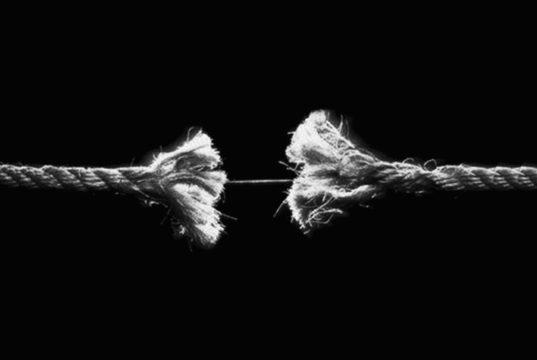 corda spezzata