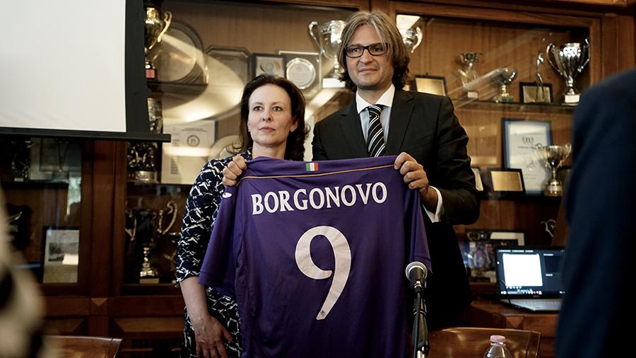 Chantal Borgonovo e Massimiliano Montanari