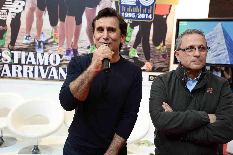 Alex Zanardi ed Enrico Castrucci