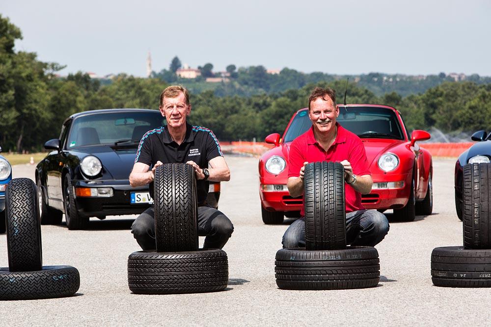 Porsche pneumatici
