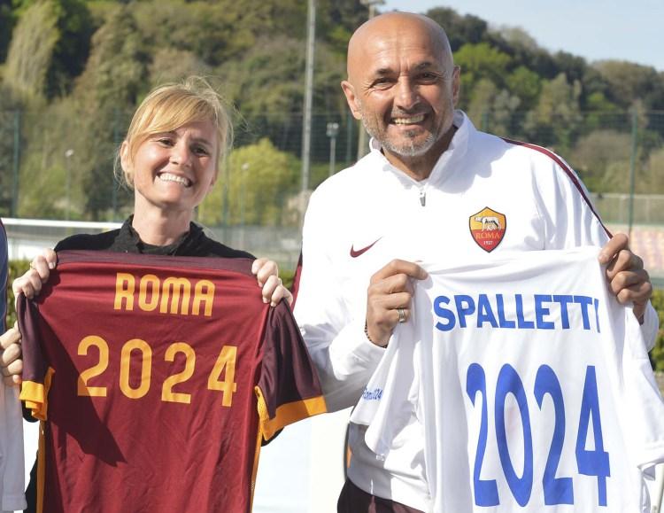 Diana Bianchedi e Luciano Spalletti