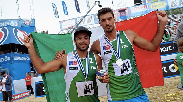 Alex Ranghieri e Adrian Carambula