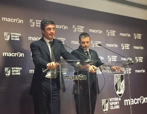 Macron e il Vitoria Sport Clube annunciano la firma dell'accordo