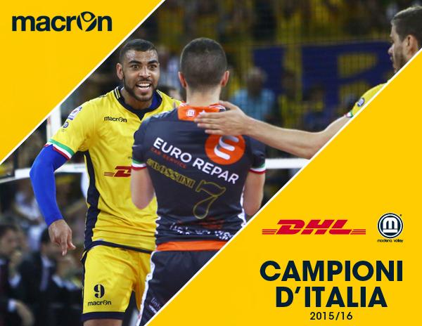 DHL MODENA Volley - Campione d'Italia