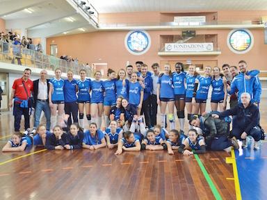 Volley, under 14