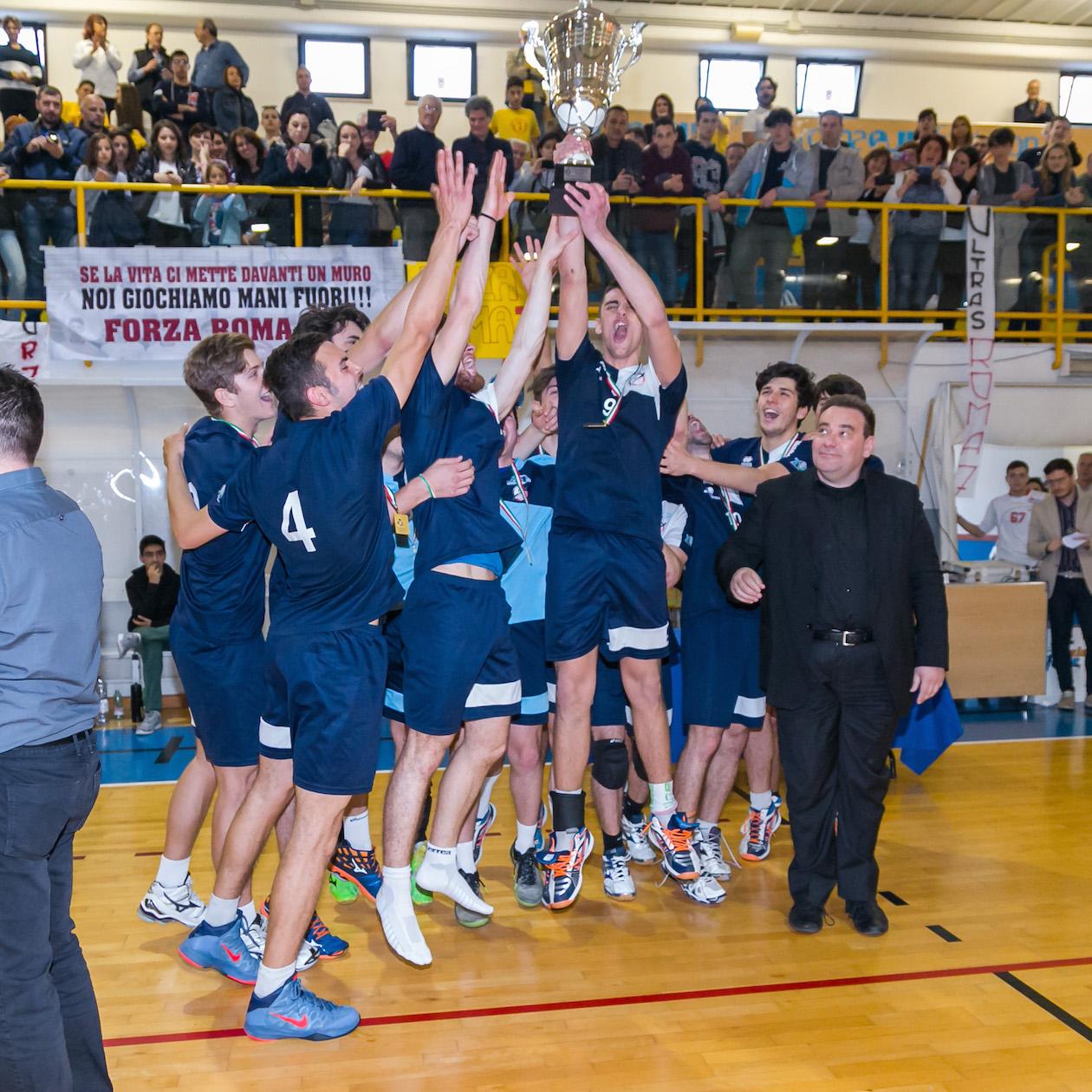 Premiazione volley