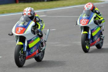 Boncinelli e Bertelle (MiniGP 50cc)