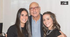 Graziani e con lui la figlia e la nipote di Tonino Gasperini