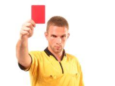 Cartellino rosso anche per i tifosi