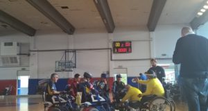 wheelchair hockey