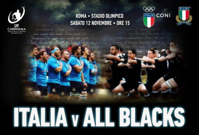 Italia-All Blacks
