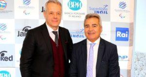 Il presidente Valori e Segretario FINP Riccobello