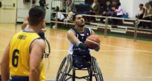 Ahmed Raourahi contro il Santa Lucia Roma