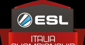 Il logo della manifestazione ESL-Italia Championship