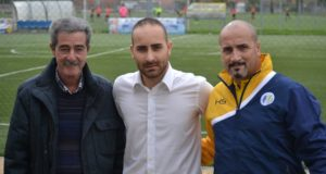 Ottobrini in mezzo a Roberto Ciani (a sx) e Fabrizio Ciani
