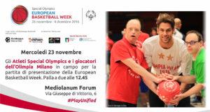 Special Olympics European Basketball Week