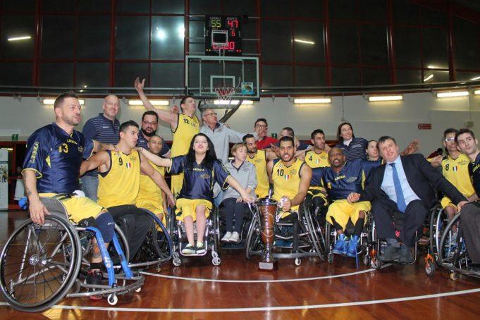 Il Santa Lucia Roma alza la Supercoppa Italiana 2015