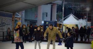 Luci calde, profumi, musica e suoni, immagini in movimento, volteggi sul ghiaccio, sfizi enogastronomici