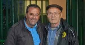 Umberto Valentini (a destra)