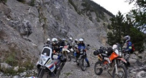 Soccorso motociclistico a Monte Salviano (Avezzano)