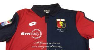 Il Genoa Cfc bagna l'esordio nel 2017 (19ima giornata di campionato) e la chiusura del girone d'andata, con un nuovo e prestigioso main sponsor di maglia