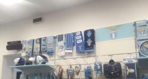 Il nuovo official store della SS Lazio inaugurato a RomaEst