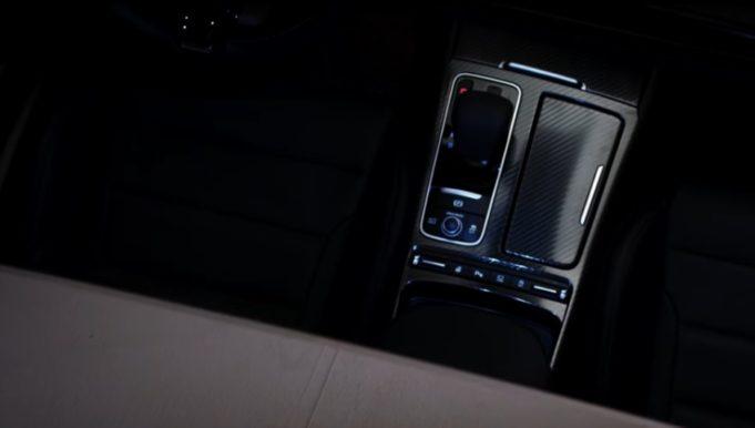 Un particolare della Kia GT