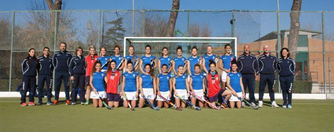 Nazionale Femminile Hockey Prato