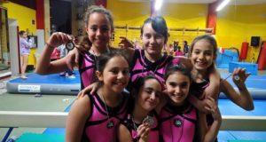 6 delle 7 ragazze della responsabile Francesca Ciappetta