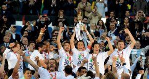 Coppa Italia alla Lazio nel 2013 dopo la finale-derby