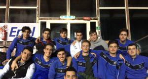 L'Under 17 del settore pallanuoto del 3T Frascati Sporting Village