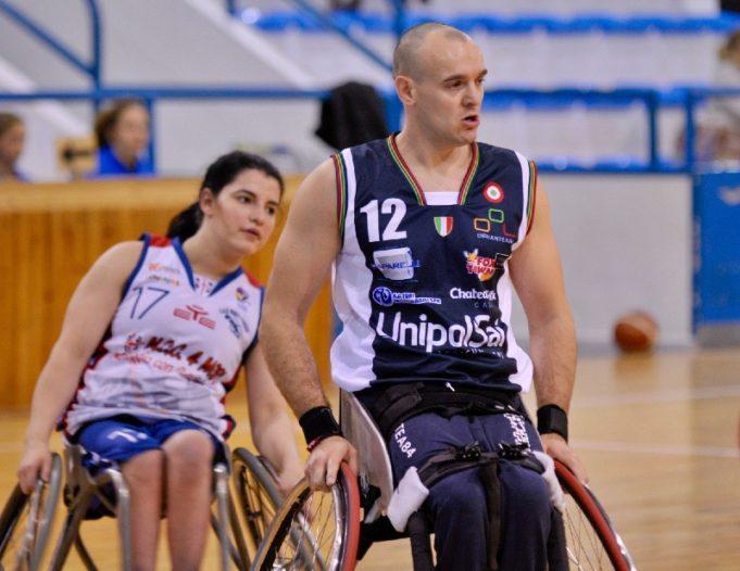 Sagar (Briantea) e Ion (Porto Torres) nel match di andata