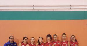 Under 16 della Polisportiva Borghesiana volley