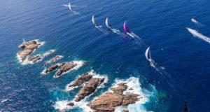 I Maxi 72 nelle acque della Costa Smeralda (Rolex Maxi72 Worlds 2016; ph.cr: Rolex / C.Borlenghi)