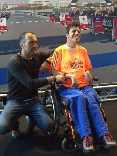 Mattia Luparia insieme a Vittorio Franco