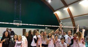 L'under 14 del Volley Club Frascati