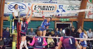 Viviana Corvese in attacco