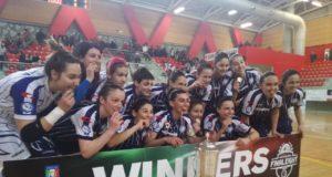 L'Olimpus è campione, la Coppa Italia torna a Roma