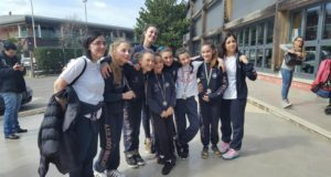 Le ginnaste in trasferta a Casal Palocco